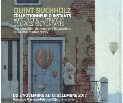 Vendredi 24 novembre 2017 à 18h30 : Lecture-rencontre avec Quint Buchholz