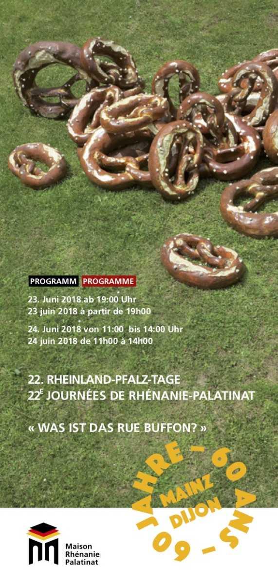 23 et 24 juin 2018 : 22èmes Journées de Rhénanie-Palatinat