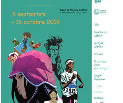 """5 septembre au 31 octobre 2018 : Exposition """"Deutsche Comics"""""""