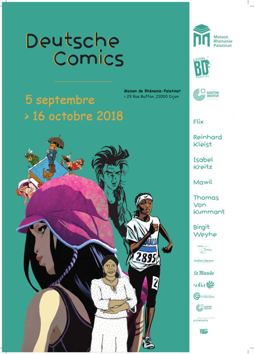 "5 septembre au 31 octobre 2018 : Exposition ""Deutsche Comics"""
