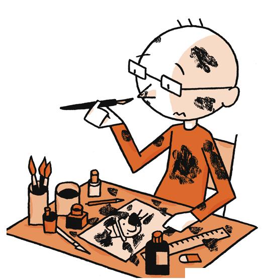 26 septembre 2018 : Visite de Ulf K. – un illustrateur allemand à découvrir