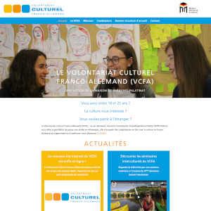 Un nouveau site internet pour notre programme de Volontariat Culturel Franco-Allemand