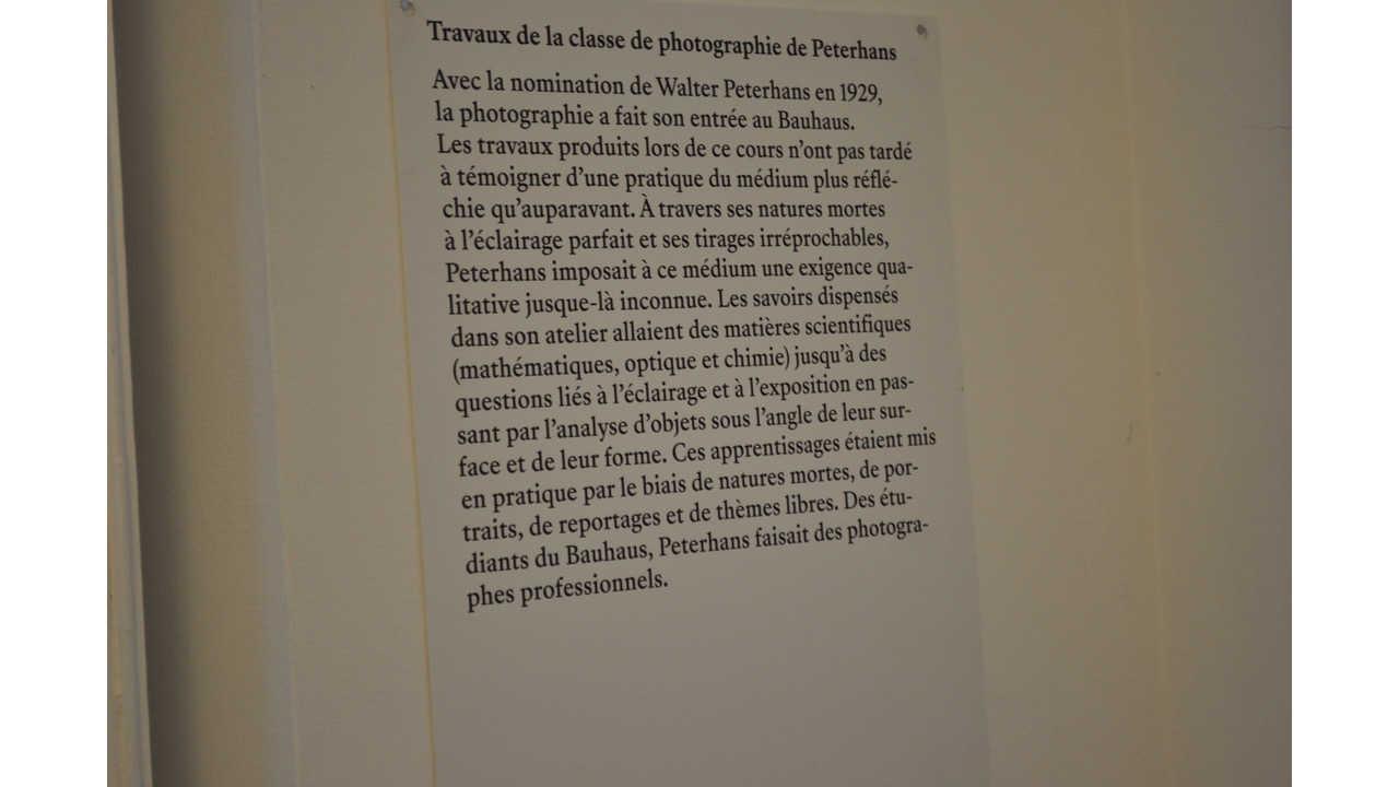 """Du 15 janvier au 5 mars 2019 : Exposition """"bauhaus.photo"""""""