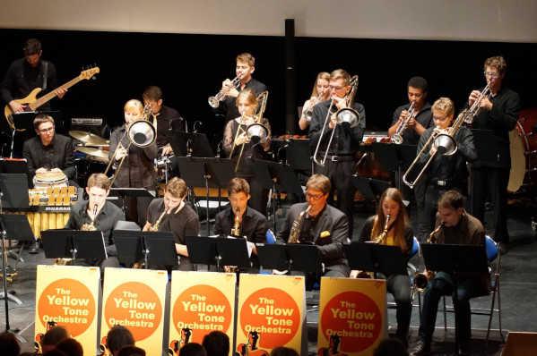 Dimanche 13 octobre 2019 à  16 h : Concert : The Yellow Tone Orchestra