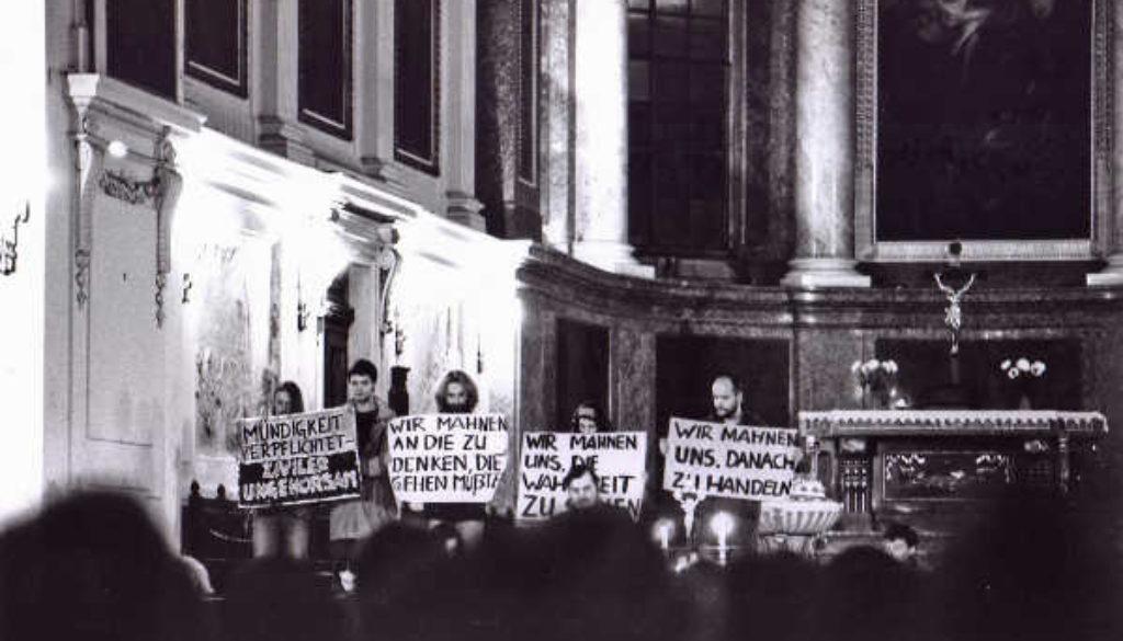 À ne pas manquer : Conférence-Débat : La révolution silencieuse en 1989 en RDA (Christoph Wonneberger)