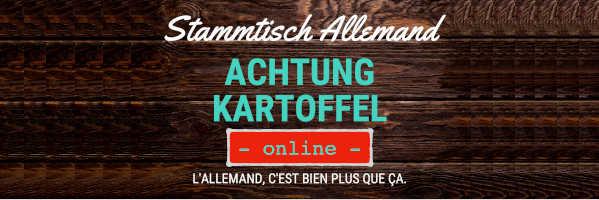 À ne pas manquer : Mercredi 7 avril 2021 à 19h30 Stammtisch (en ligne)