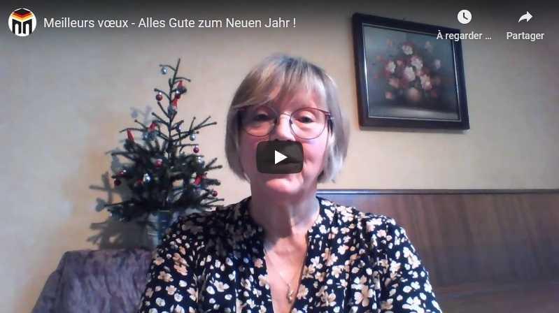 Meilleurs vœux – Alles Gute zum Neuen Jahr !
